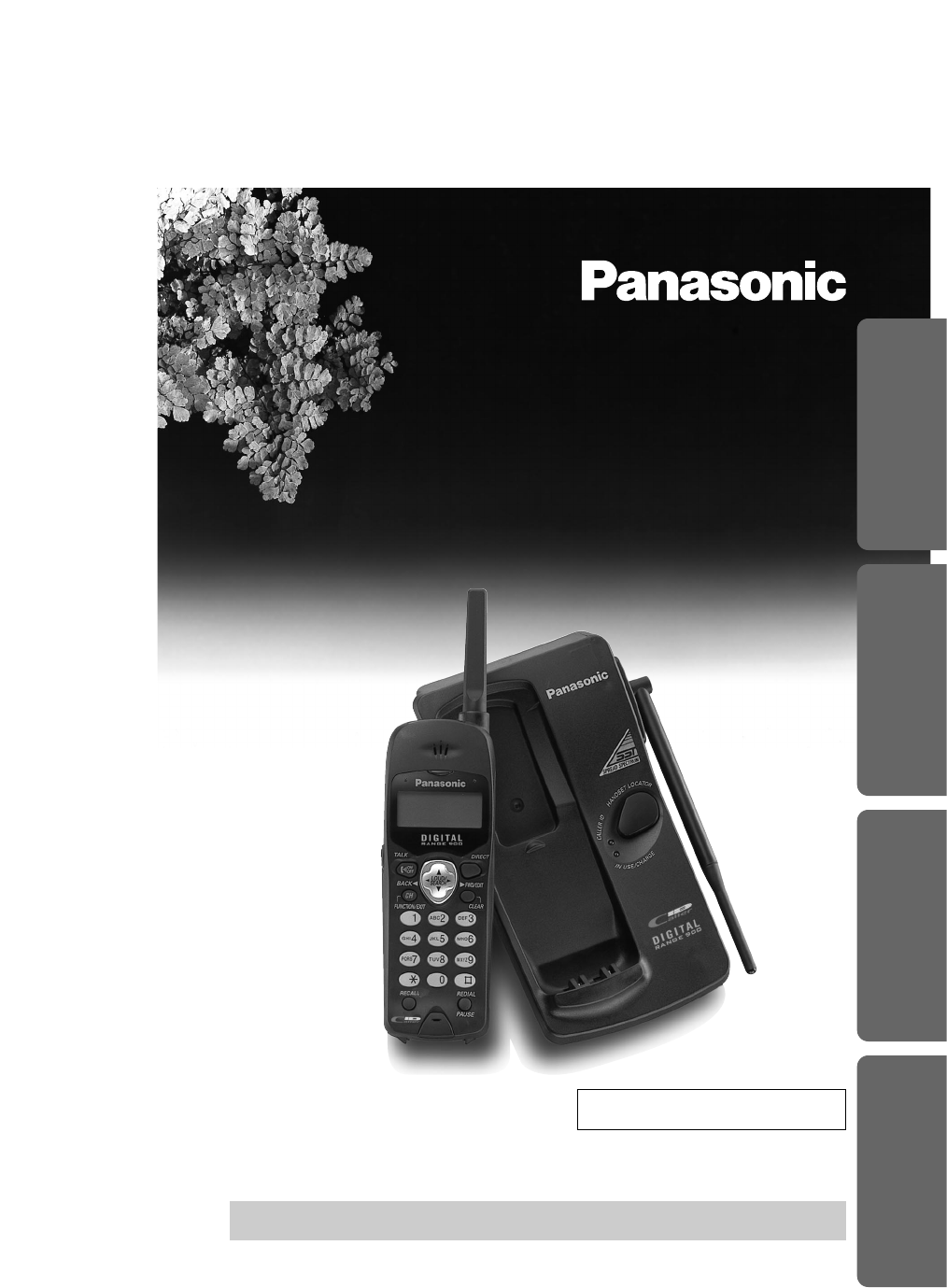 panasonic cordless phone instructions