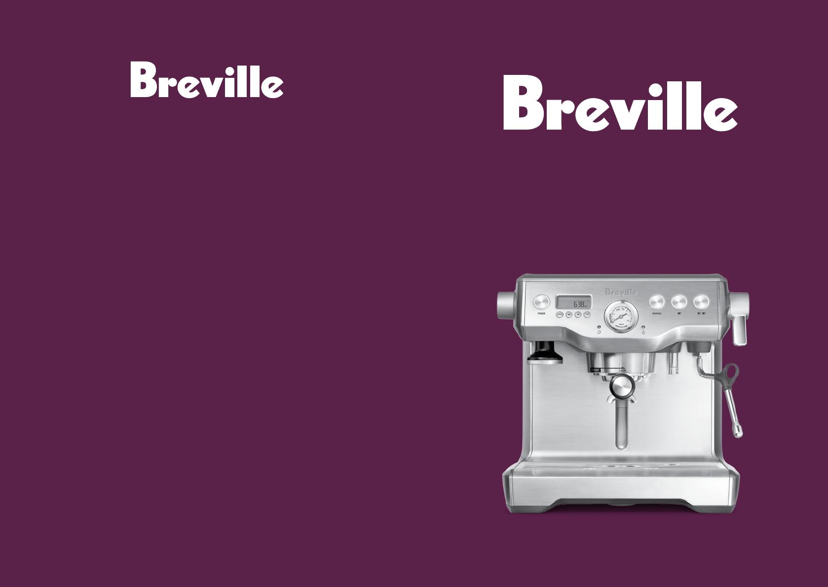 Breville bes900 repair manual