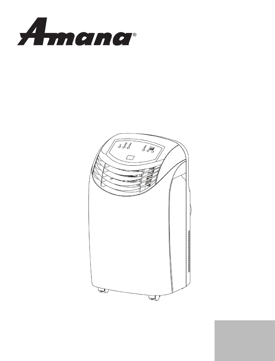 portable air conditioner user guide
