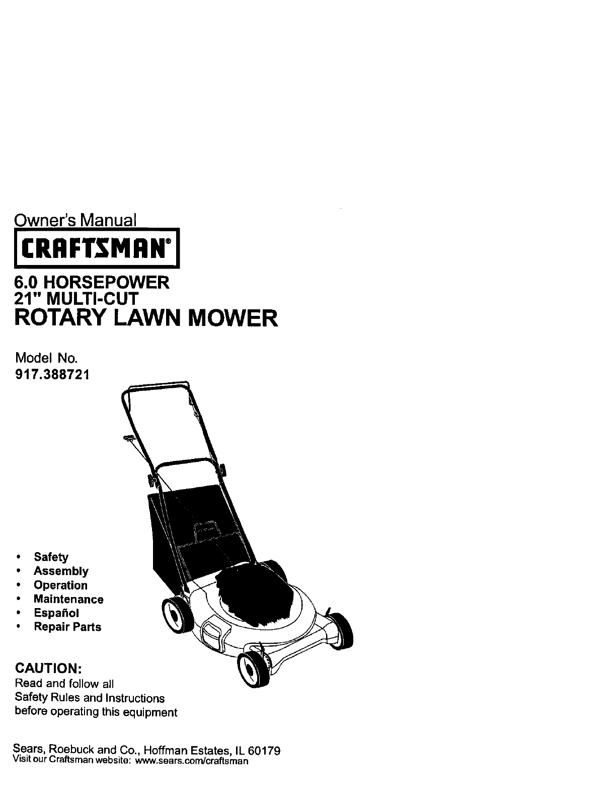 lawn mower assembly instructions