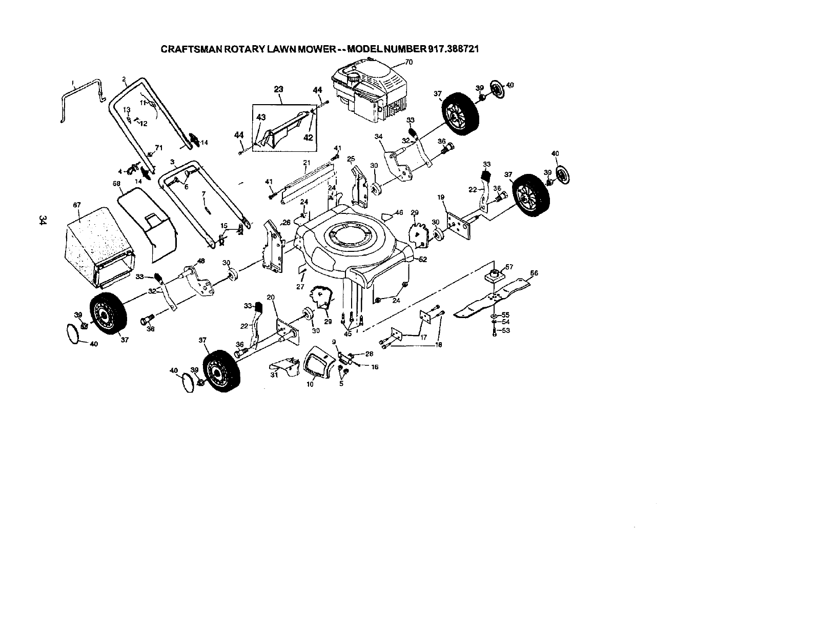 Page 18 of Craftsman Lawn Mower 38872 User Guide