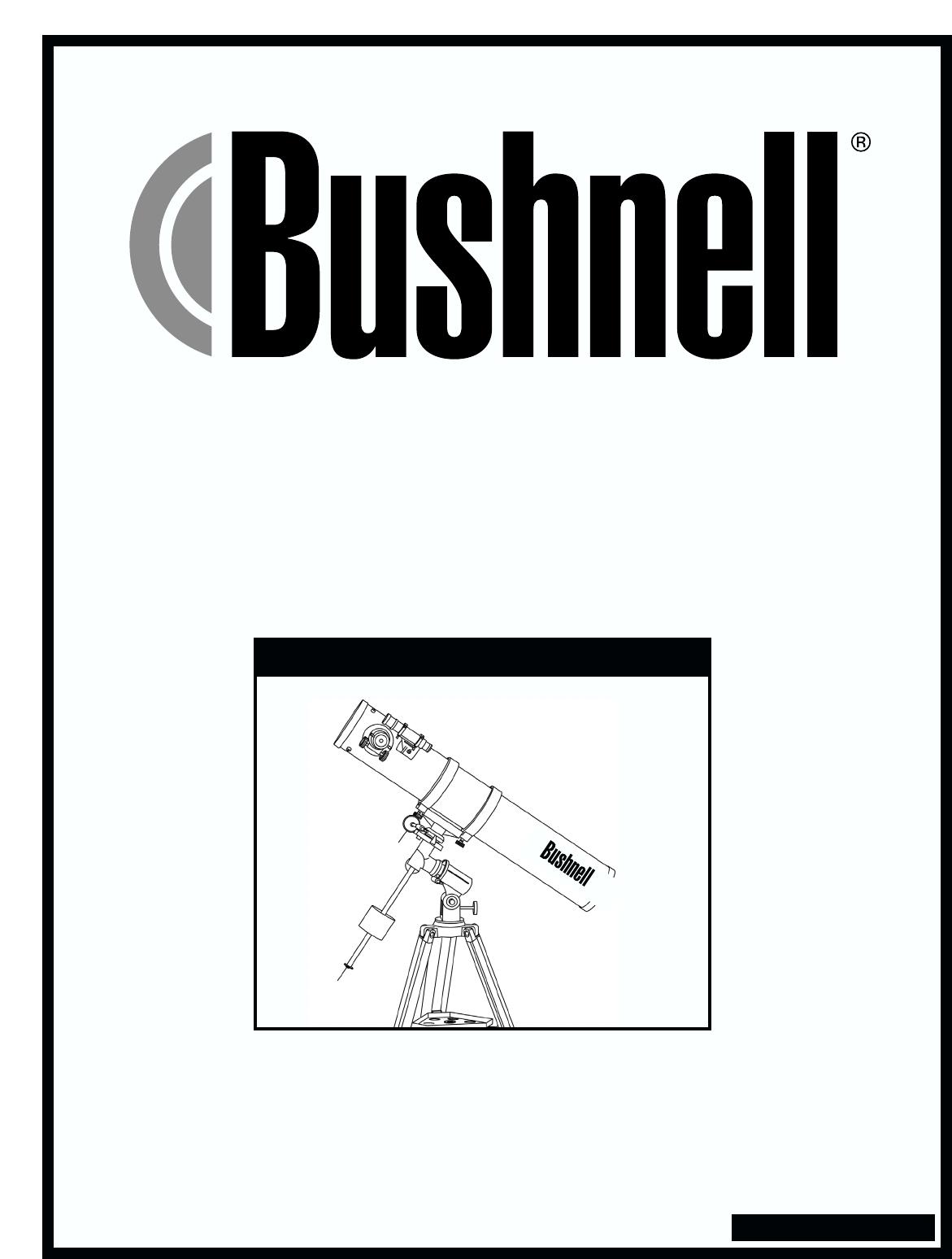 bushnell telescope 78 4501 user guide manualsonline com rh tv manualsonline com bushnell user guide bushnell user guide