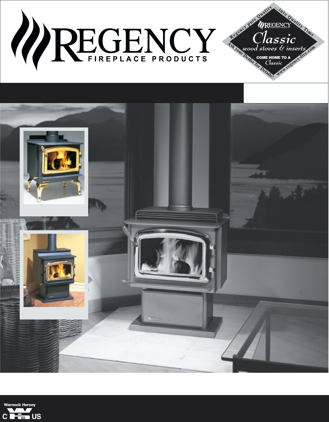 Regency Indoor Fireplace F2100m User Guide