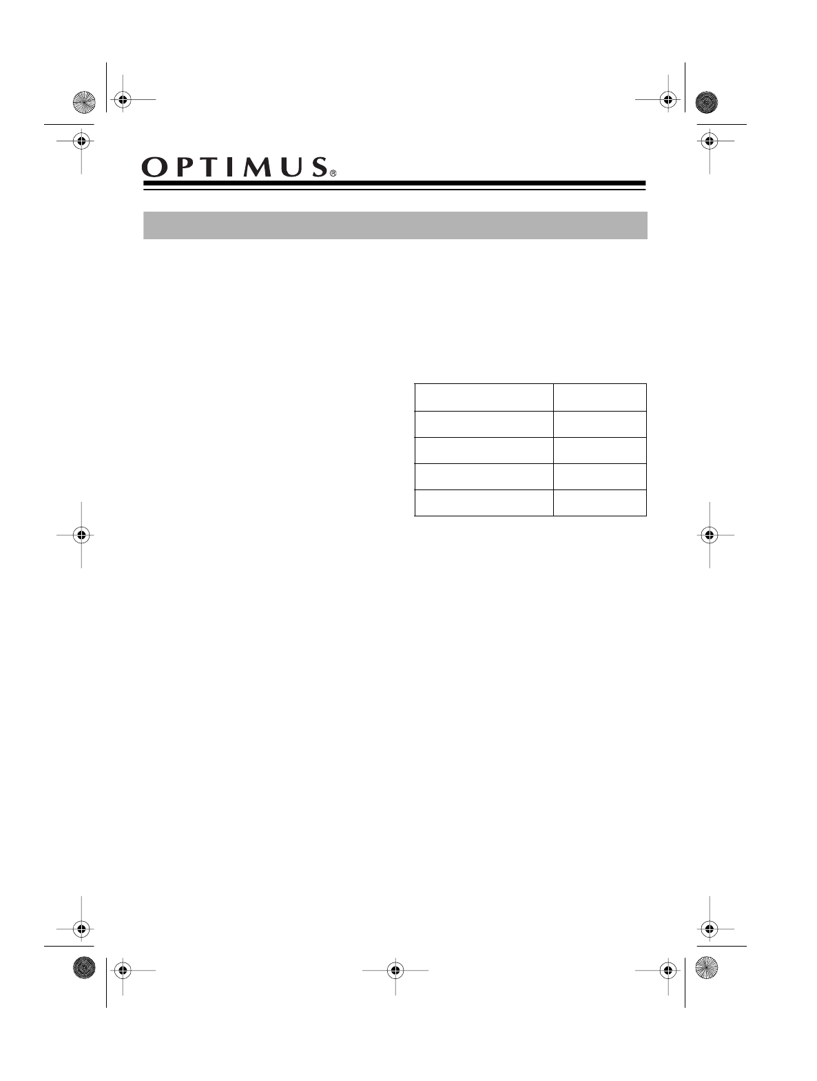 Optimus car speaker 12 1717 user guide manualsonline 1997 tandy corporation cheapraybanclubmaster Image collections