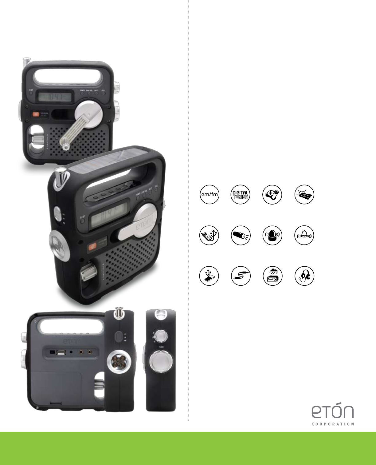 Eton FR360 Portable Radio User Manual