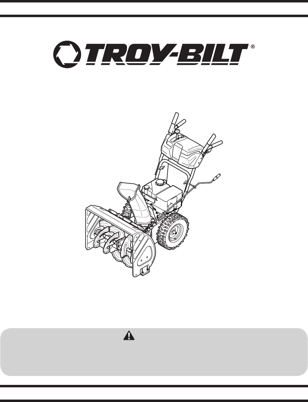 troy bilt snow blower 2410 user guide manualsonline com rh lawnandgarden manualsonline com troy bilt snowblower manuals 2410 troy bilt snowblower manuals 2620
