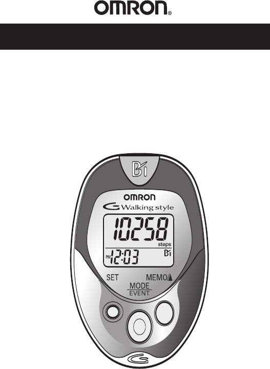 gowalking by sportline pedometer instructions