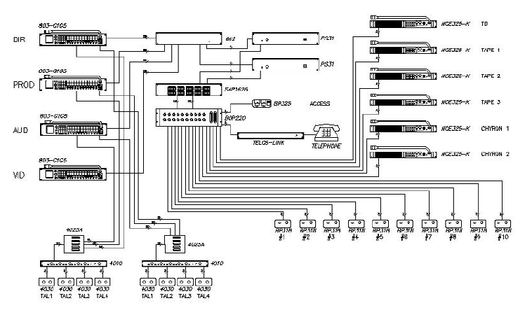 page 133 of telex intercom system 38109