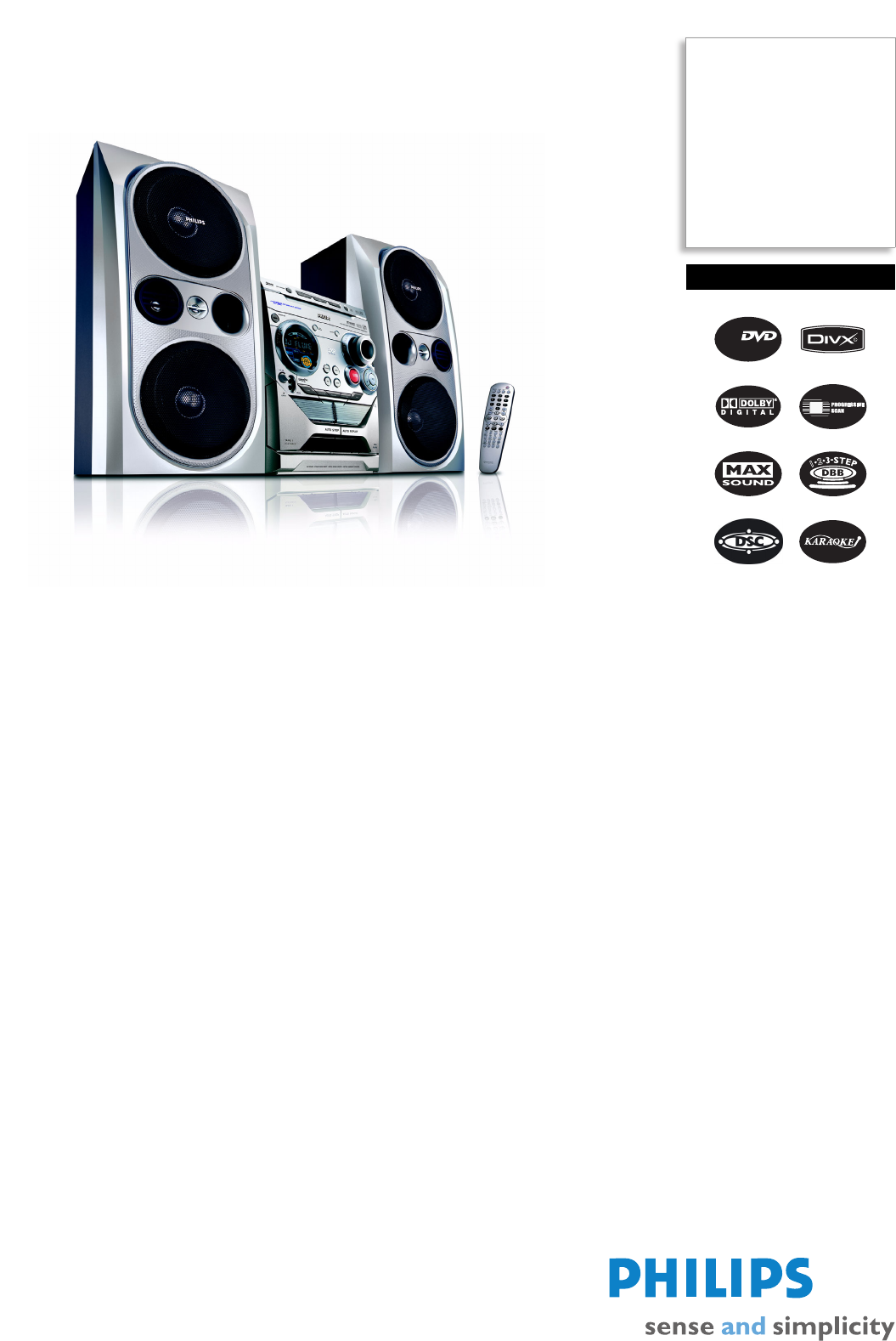 philips stereo system fwd792 user guide manualsonline com rh audio manualsonline com Philips Electronics Manuals Philips TV Manual