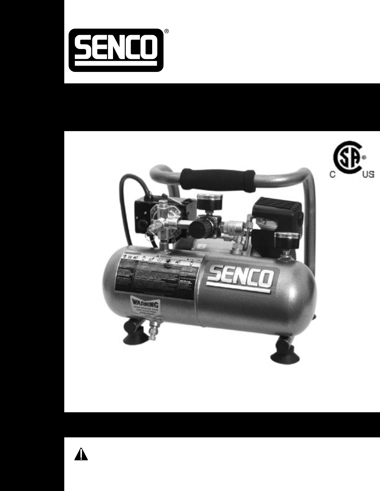 senco air compressor pc1010 user guide manualsonline com rh powertool manualsonline com Senco FinishPro 35 Senco Finish Nailer