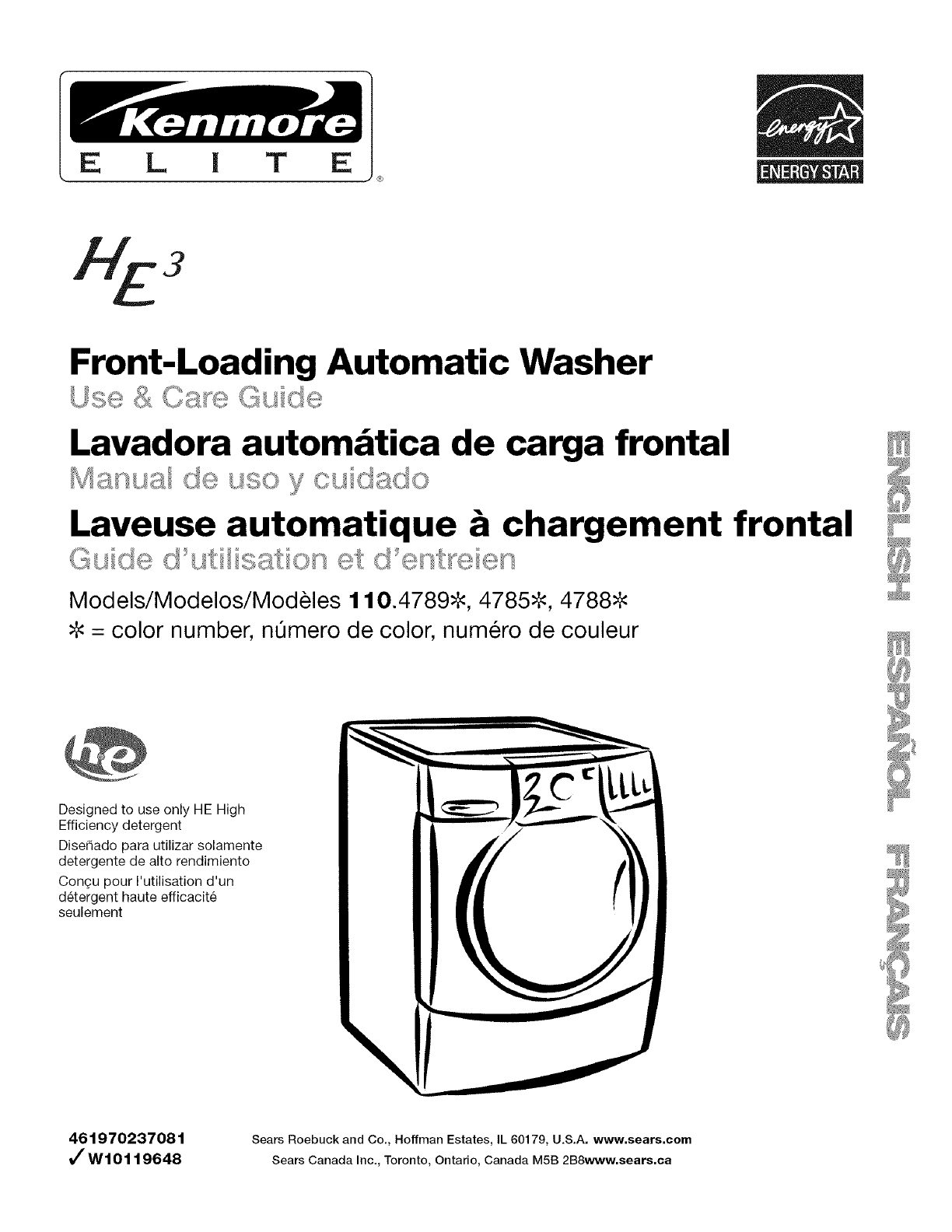 kenmore washer 4788 user guide manualsonline com rh laundry manualsonline com kenmore front load washer troubleshooting guide kenmore washer troubleshooting manual