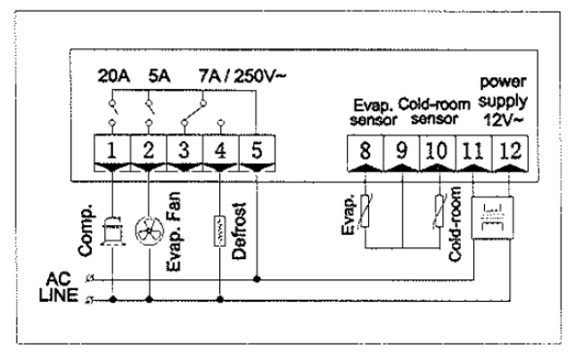Page 8 of kelvinator refrigerator kcbm23r user guide manualsonline circuitdiagram cheapraybanclubmaster Image collections