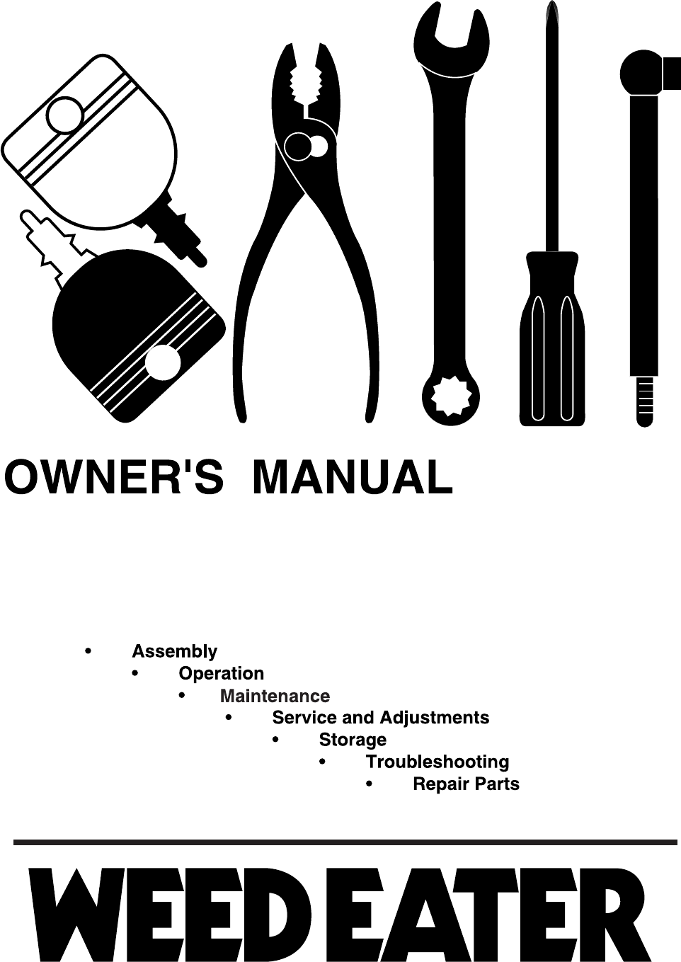 Weed Eater Lawn Mower We12538m User Guide