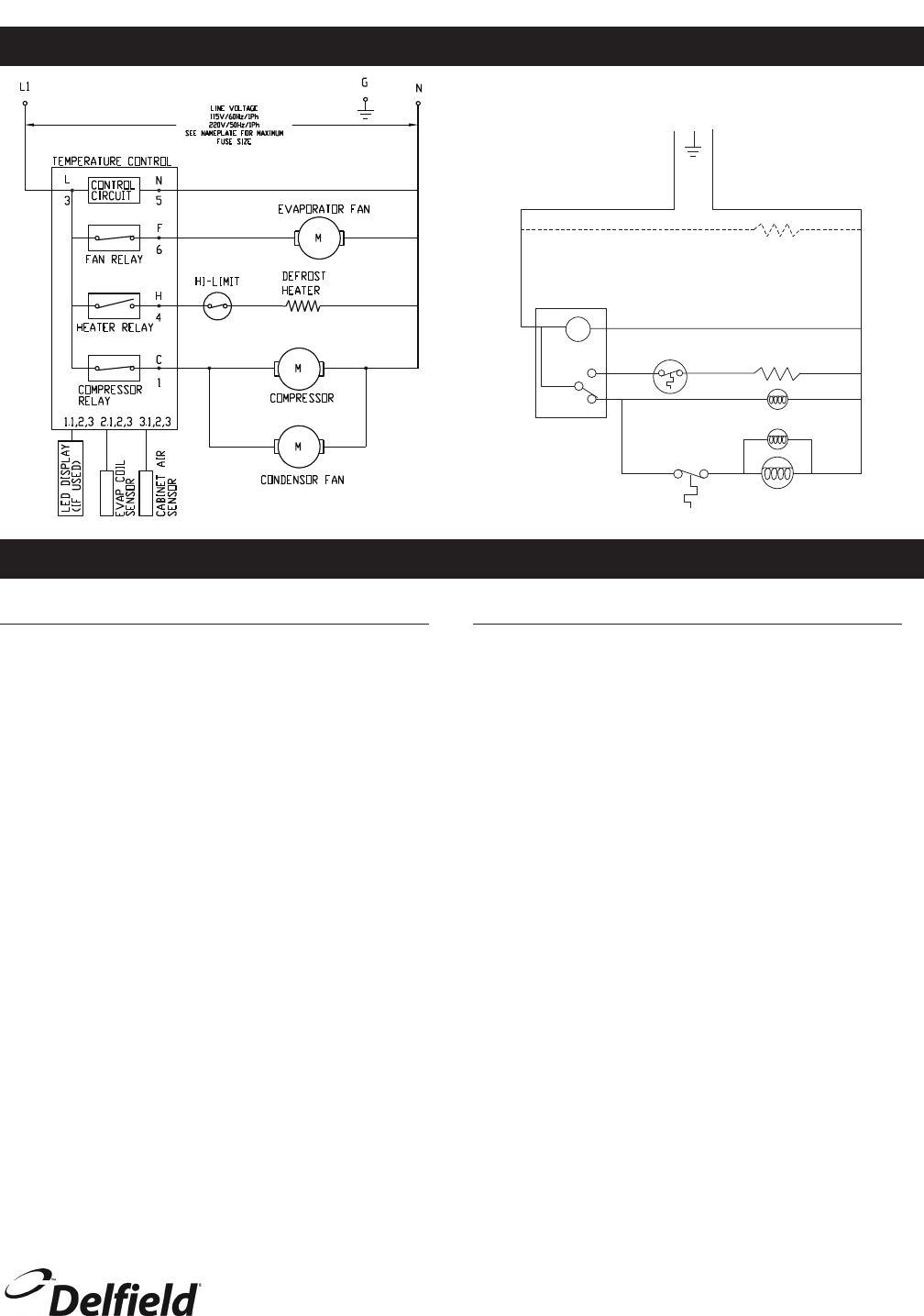 [SCHEMATICS_4NL]  Page 13 of Delfield Refrigerator 400 User Guide | ManualsOnline.com | Delfield Refrigerator Wiring Diagram |  | Kitchen Appliance Manuals - ManualsOnline.com
