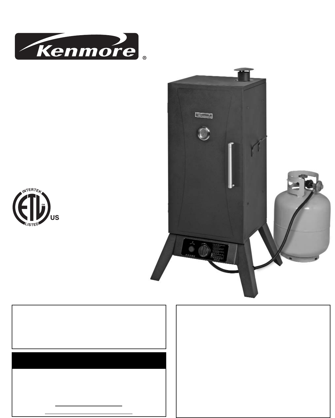 kenmore smoker 125 15884801 user guide manualsonline com rh outdoorcooking manualsonline com Kenmore Smoker Parts Brinkmann Smoker Parts