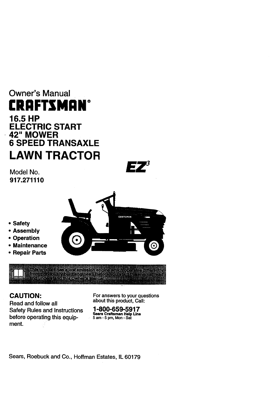 7a737f57 67af 49c5 a541 079cbf11b29b bg1 craftsman lawn mower 917 271110 user guide manualsonline com Craftsman Lawn Mower Won't Start at gsmx.co