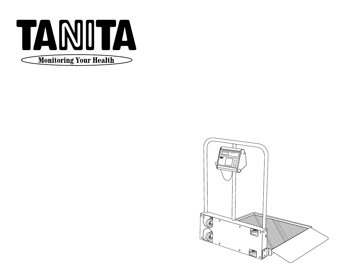 tanita weight scale instructions