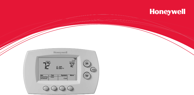 honeywell wifi thermostat rth6580wf user manual
