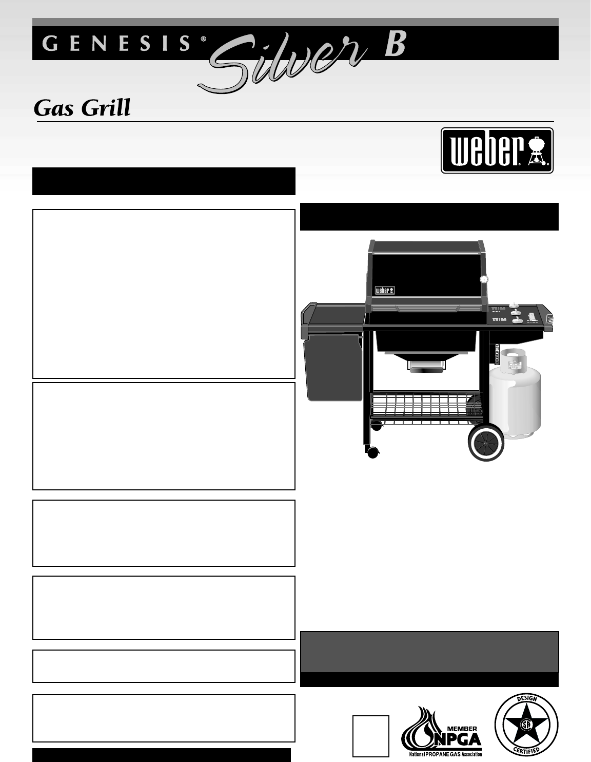weber gas grill 55143 user guide. Black Bedroom Furniture Sets. Home Design Ideas