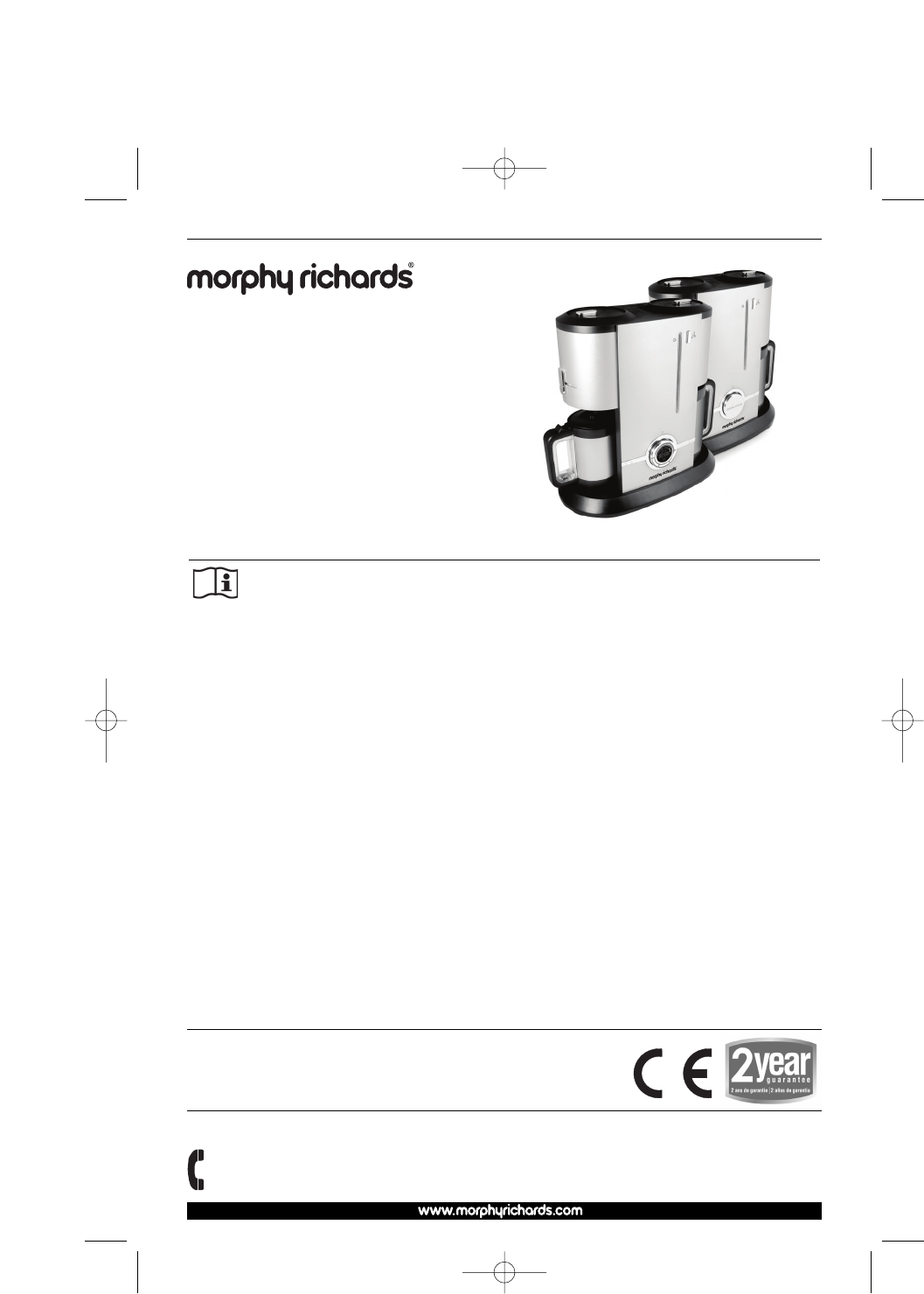 Morphy Richards Coffeemaker 47060 User Guide ManualsOnline.com