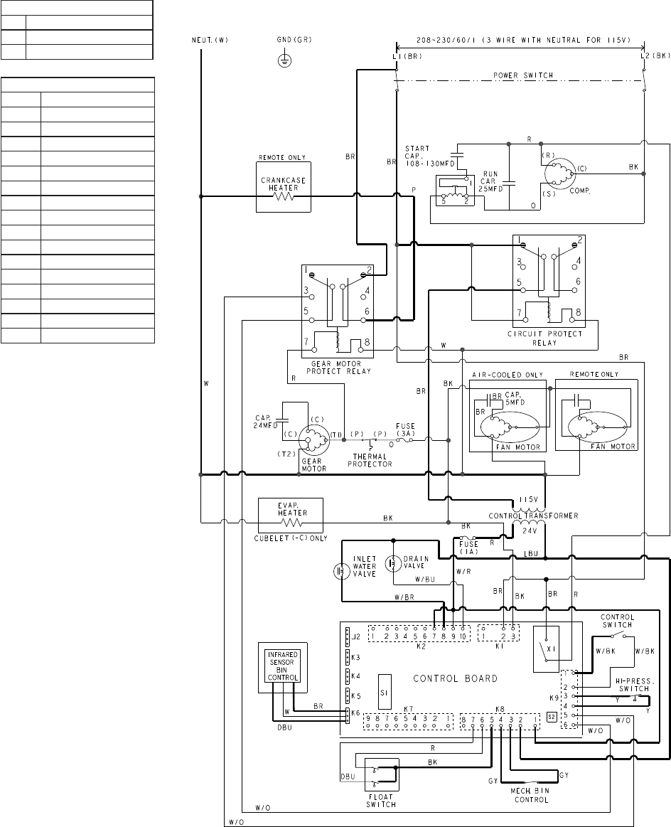 page 41 of hoshizaki refrigerator fd 1001mlh c user guide 41 3 sequence wiring diagram