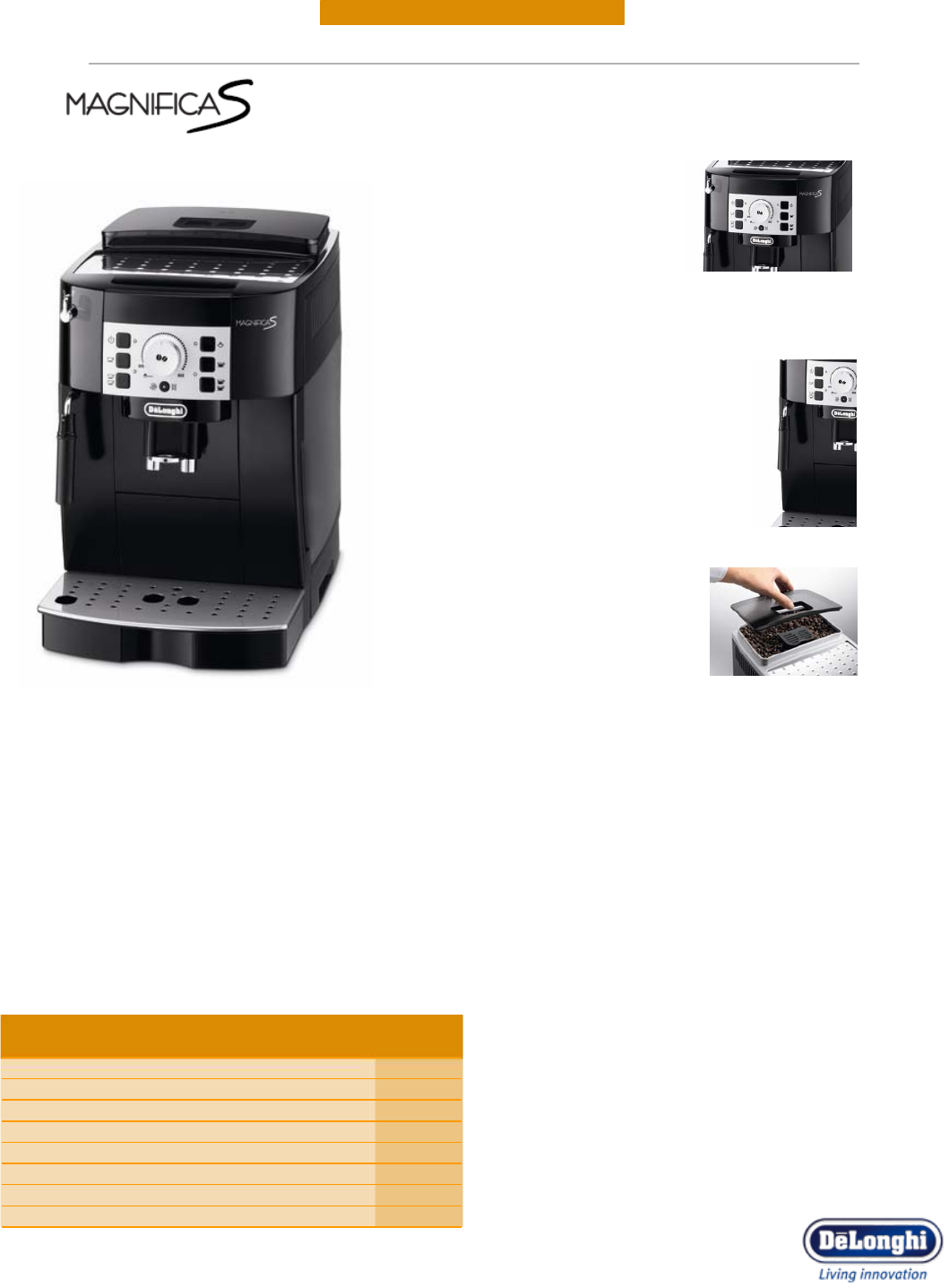 DeLonghi Espresso Maker ECAM 22.110.B User Guide ManualsOnline.com