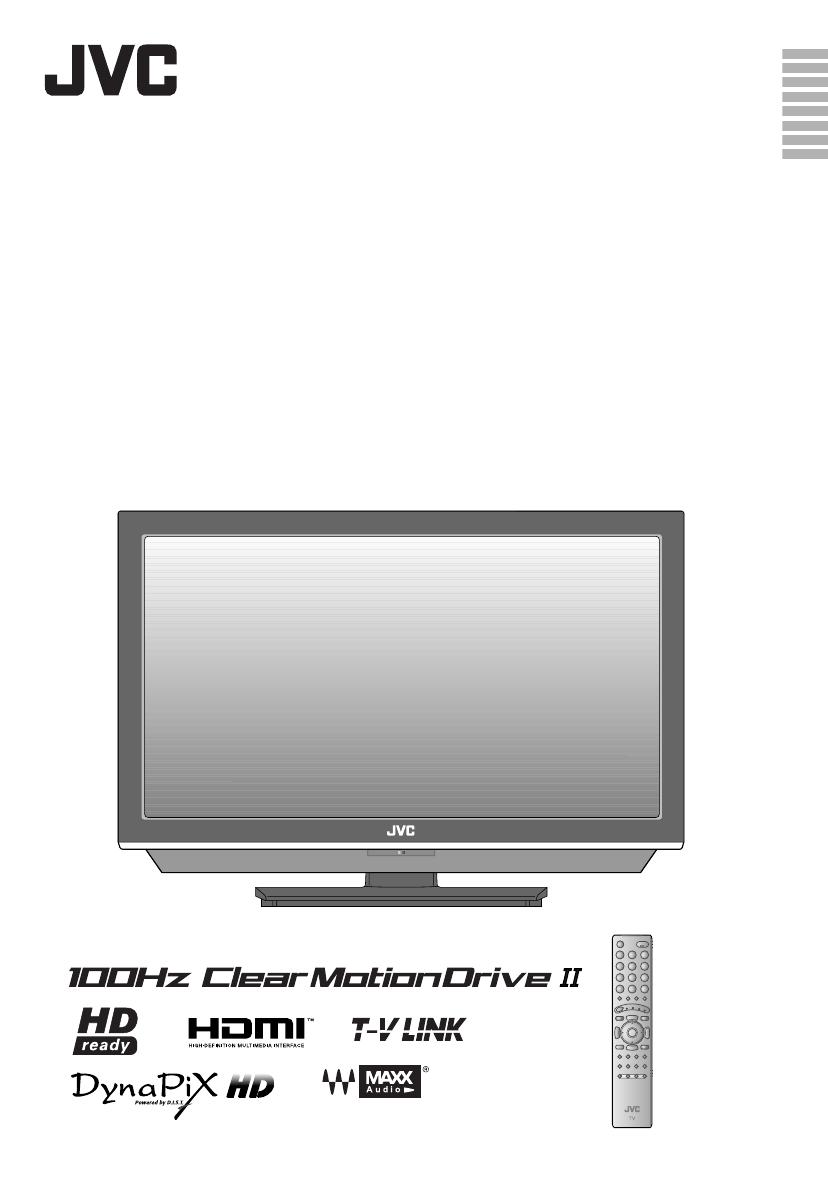 search jvc jvc lcd flat panel tv 4 user manuals manualsonline com rh tv manualsonline com Magnovox TV Big Screen JVC AV-48WP30
