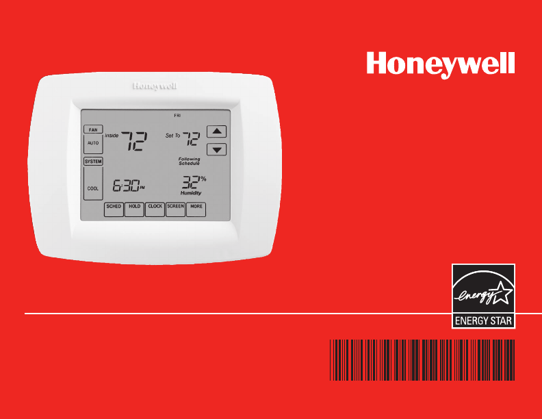 Honeywell Thermostat 69 1815efs 04 User Guide