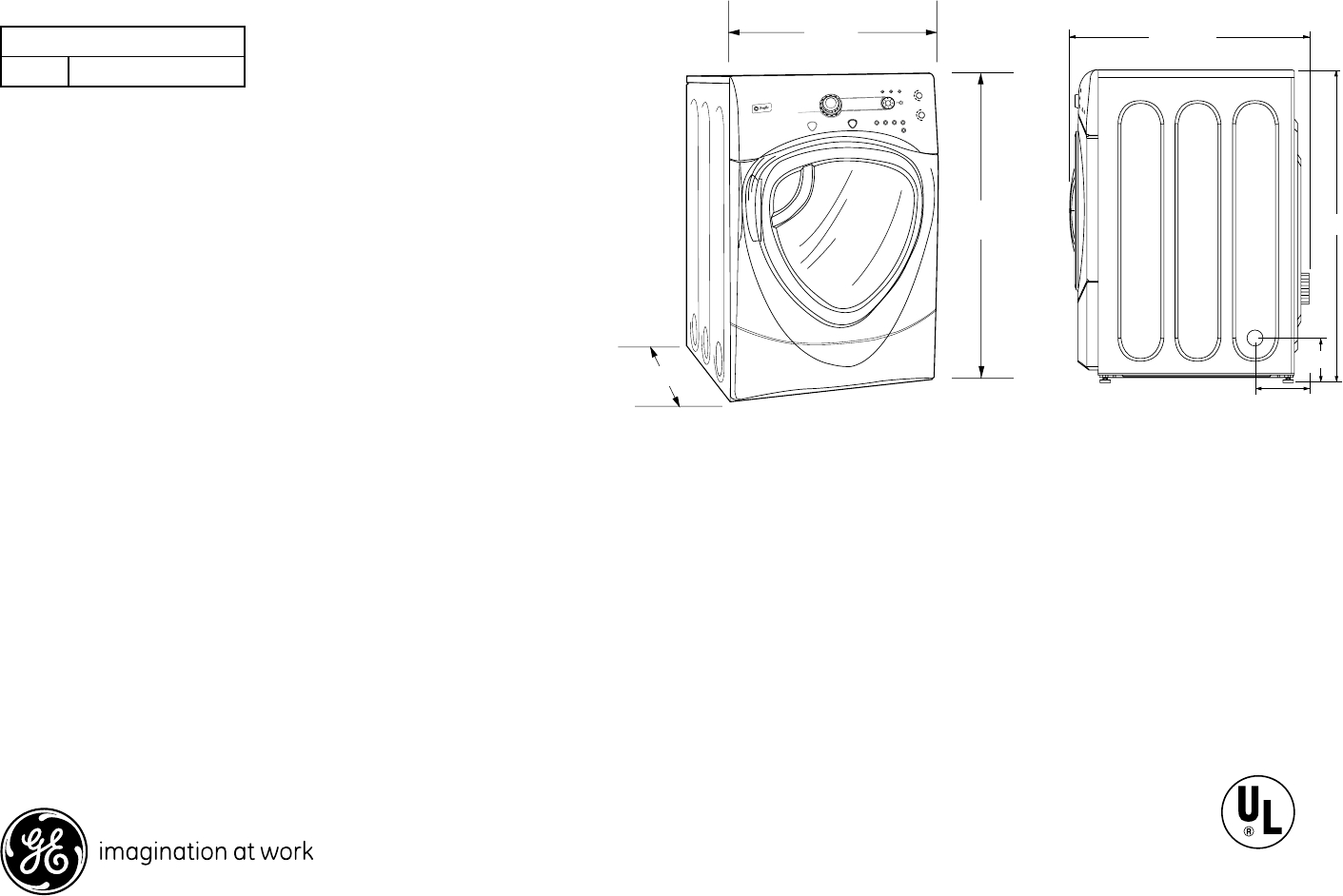 Ge Clothes Dryer Dpvh880ejmg User Guide Profile Schematic For Answers To Your Monogram