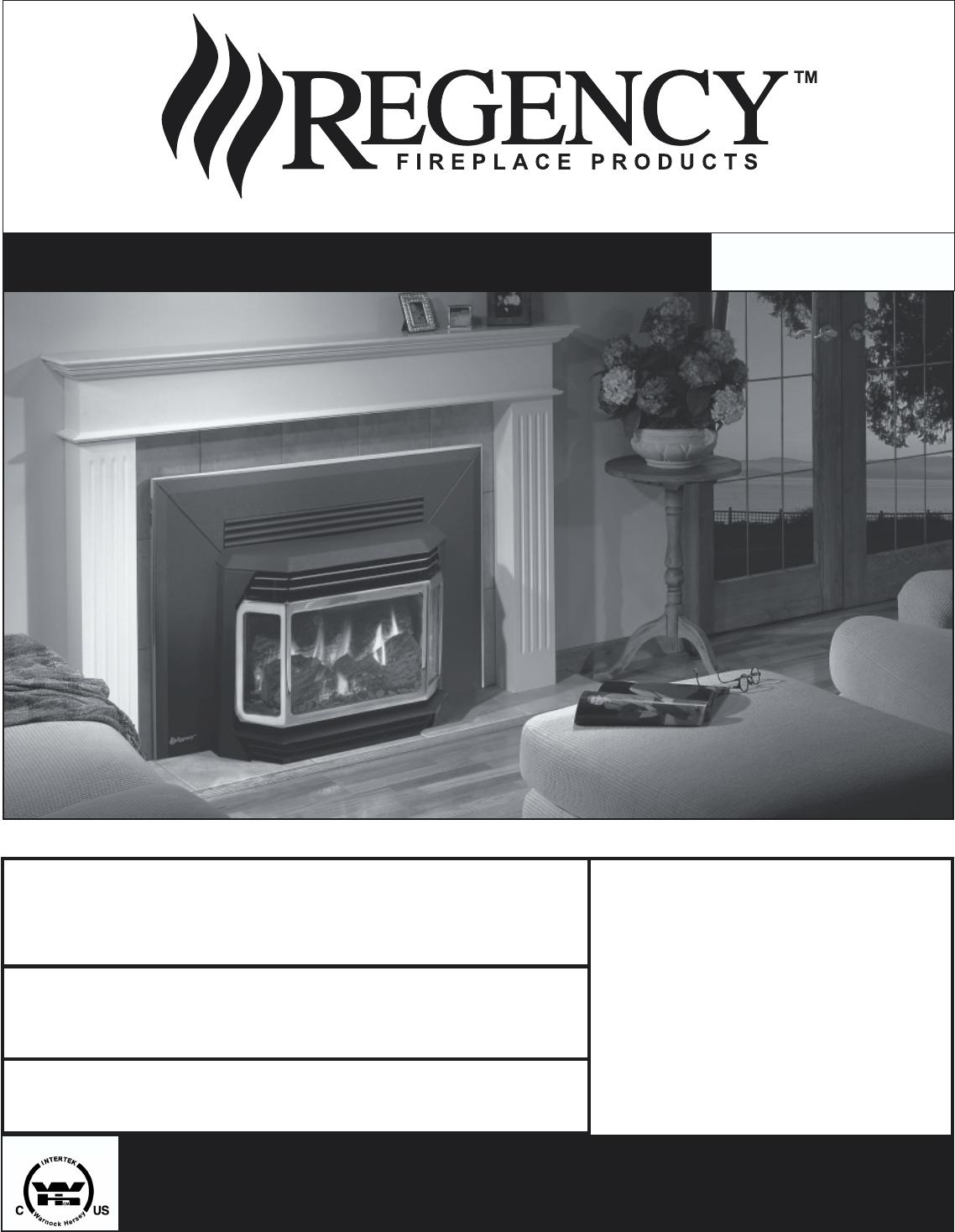 regency indoor fireplace u41 lp3 user guide manualsonline com