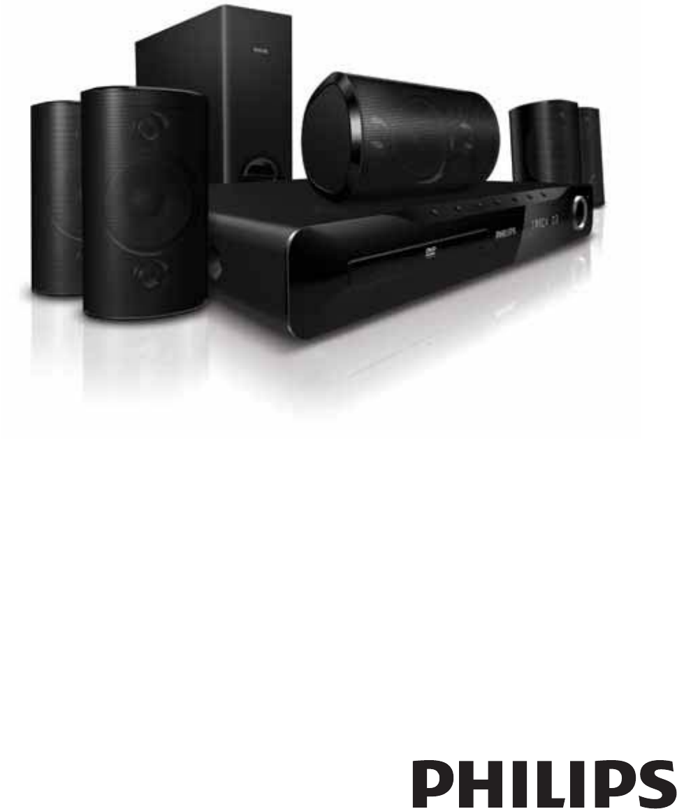 philips home theater system hts3510 user guide manualsonline com rh manualsonline com Philips Home Theater System Manual manual de usuario home theater philips hts3510