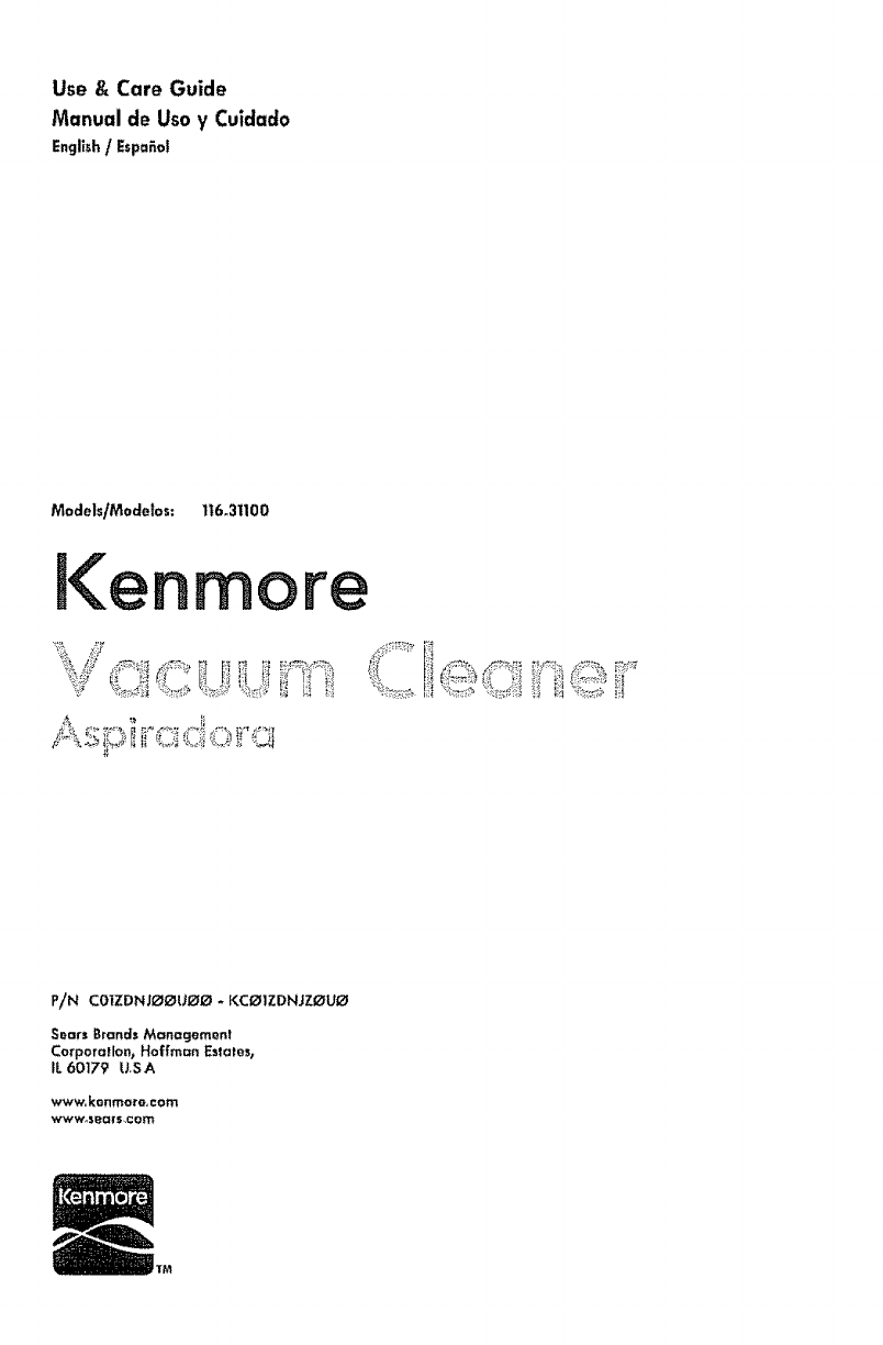 kenmore vacuum cleaner 1t6 31100 user guide manualsonline com rh homeappliance manualsonline com