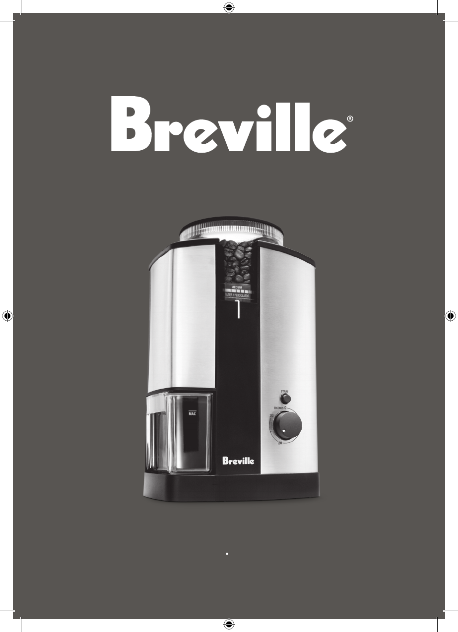 Breville Coffee Grinder BCG450XL/B User Guide ManualsOnline.com