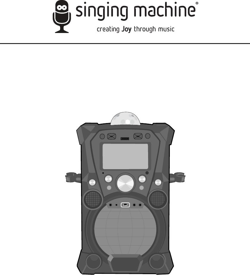 the singing machine manual
