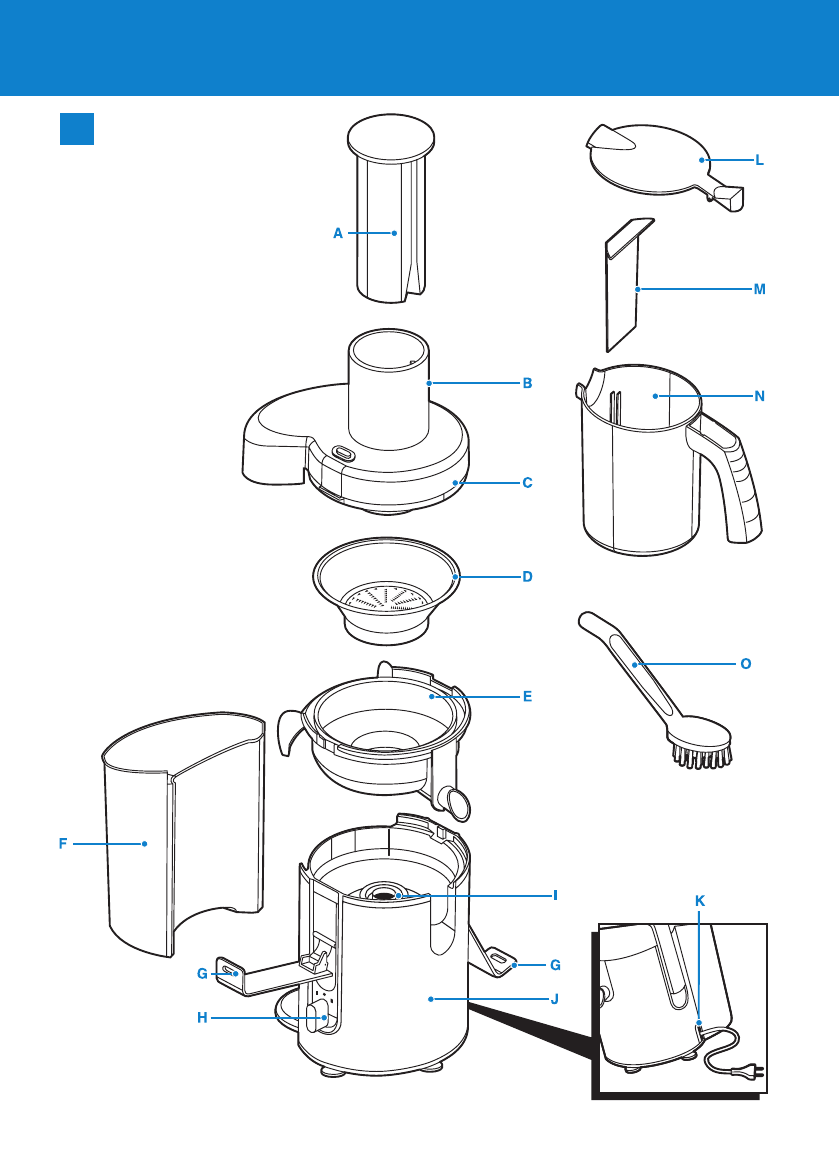 page 3 of philips juicer hr1861 user guide manualsonline com rh kitchen manualsonline com Philips Viva Collection Juicer philips juicer hr1861 user manual