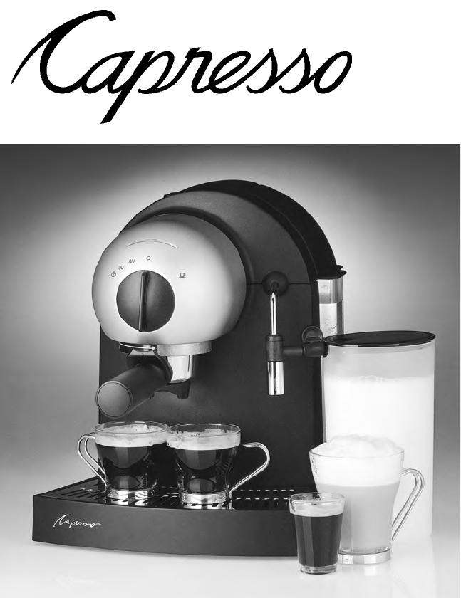 capresso coffeemaker 112 user guide manualsonline com rh kitchen manualsonline com