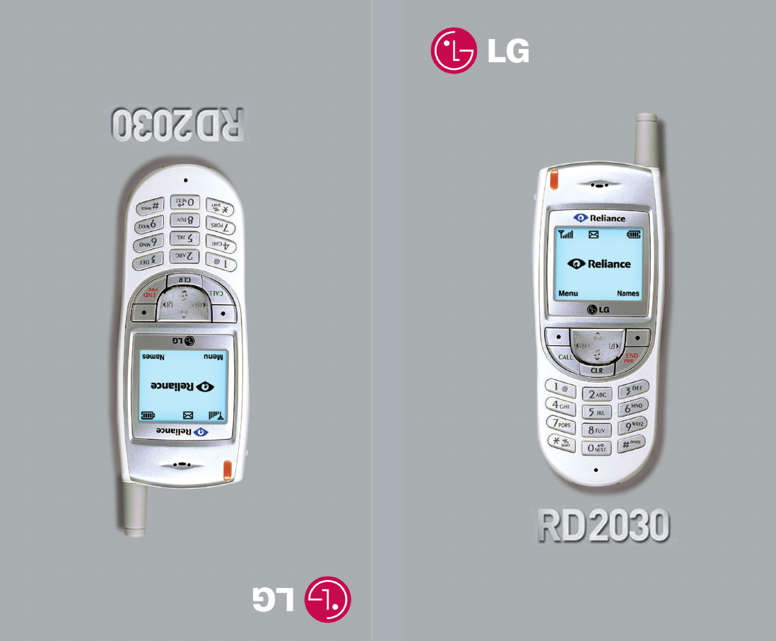 lg electronics cell phone rd2030 user guide