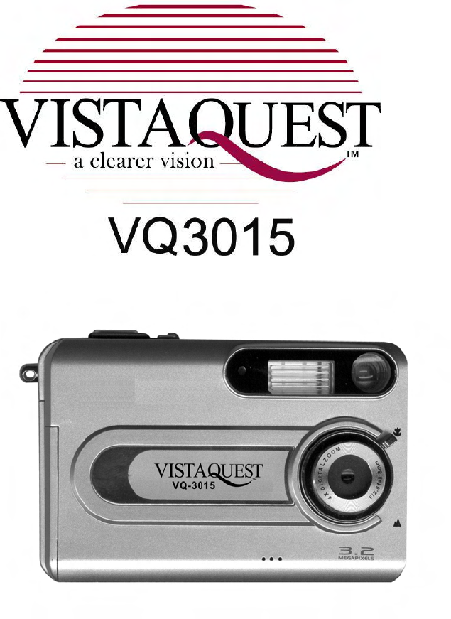 vistaquest digital camera vq3015 user guide manualsonline com rh camera manualsonline com Canon Digital Camera Manual Camera Instruction Manuals
