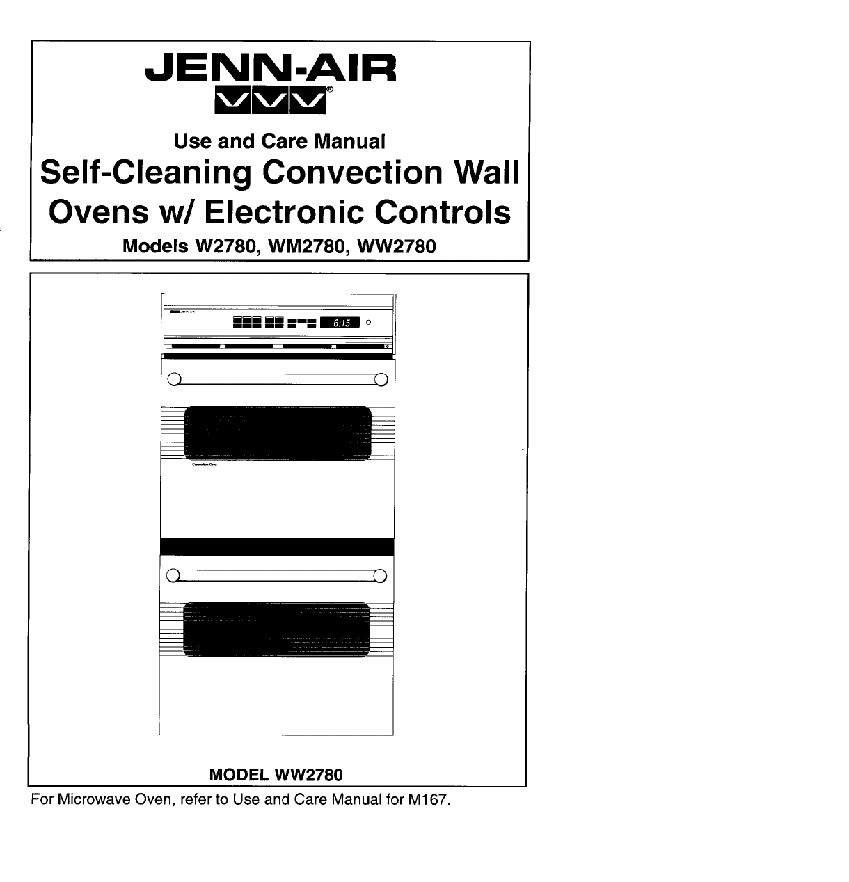 jenn air convection oven wm2780 user guide manualsonline com rh kitchen manualsonline com Jenn-Air Double Wall Oven Models Jenn-Air Dual Fuel Double Oven