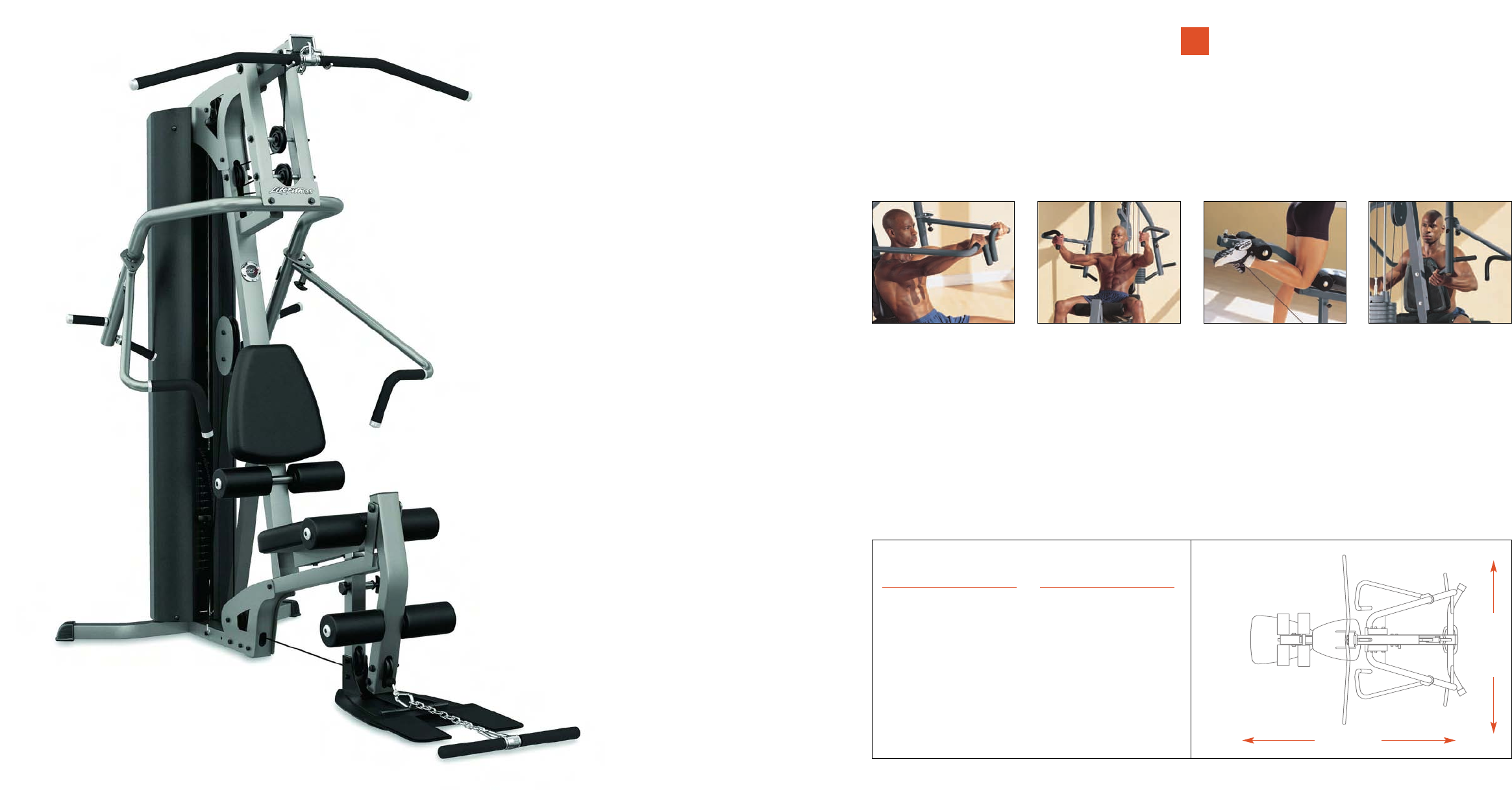 Page 7 of life fitness home gym gym systems user guide for Gimnasio life gym