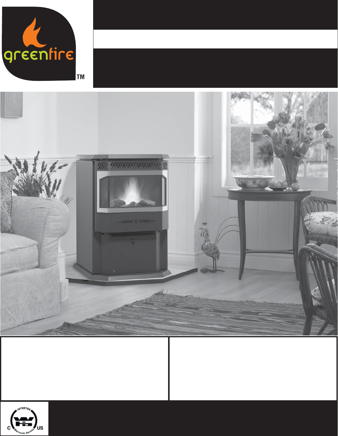 Regency Indoor Fireplace Gfi55 User Guide