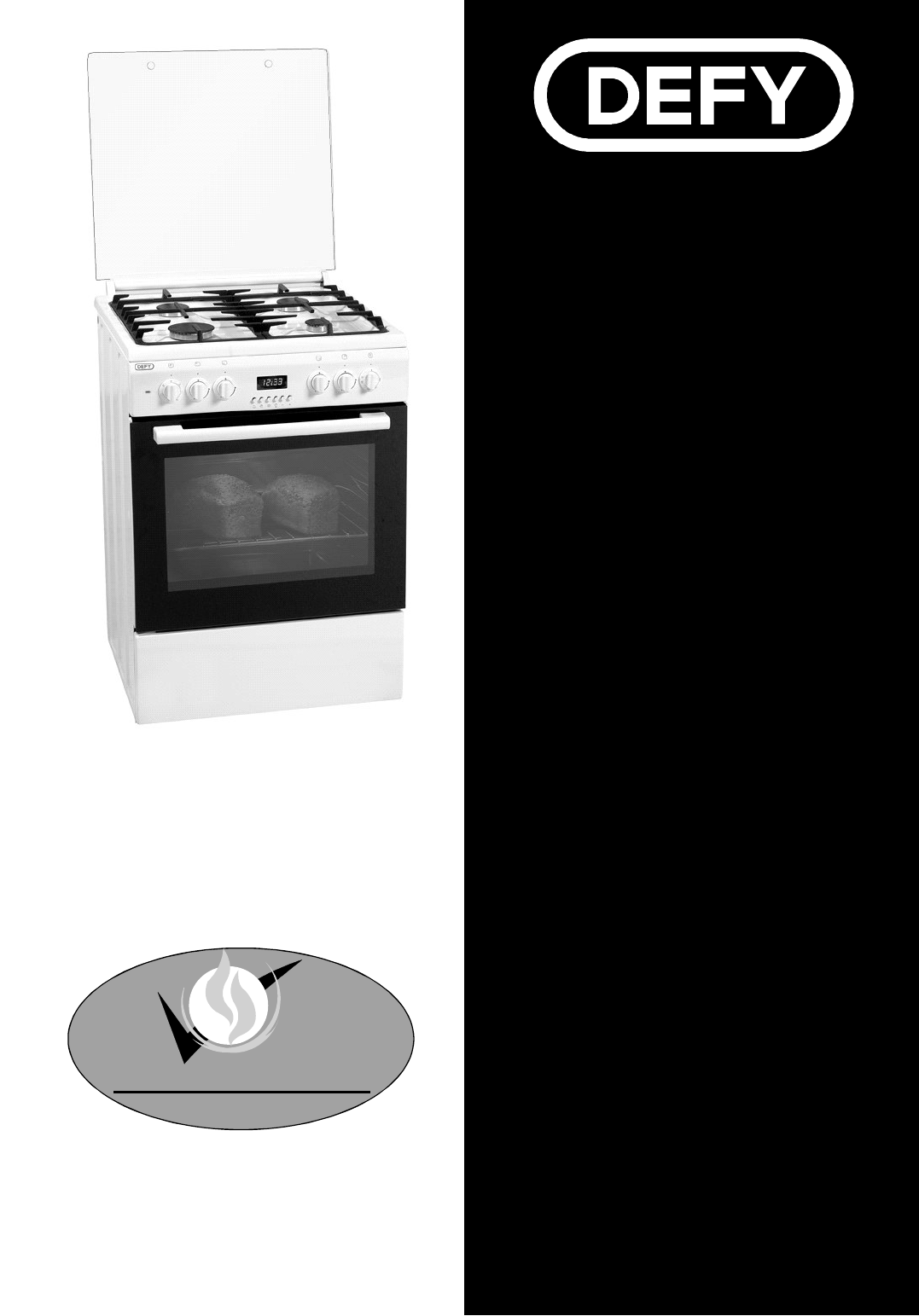 Uncategorized Defy Kitchen Appliances defy appliances oven dgs 125 and 126 user guide manualsonline com