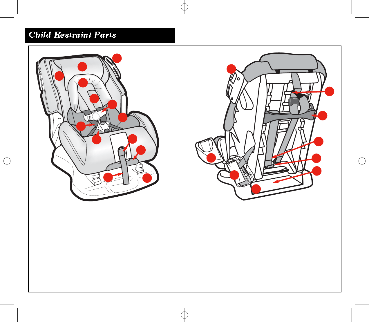 page 6 of eddie bauer car seat 22 750 user guide. Black Bedroom Furniture Sets. Home Design Ideas