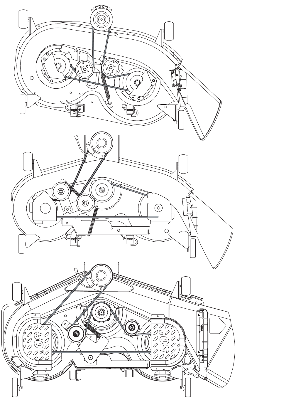 Cub Cadet Lt1042 Deck Belt Diagram Manual Guide