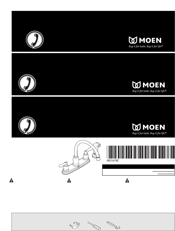 Moen Plumbing Product CA87888 User Guide   ManualsOnline.com