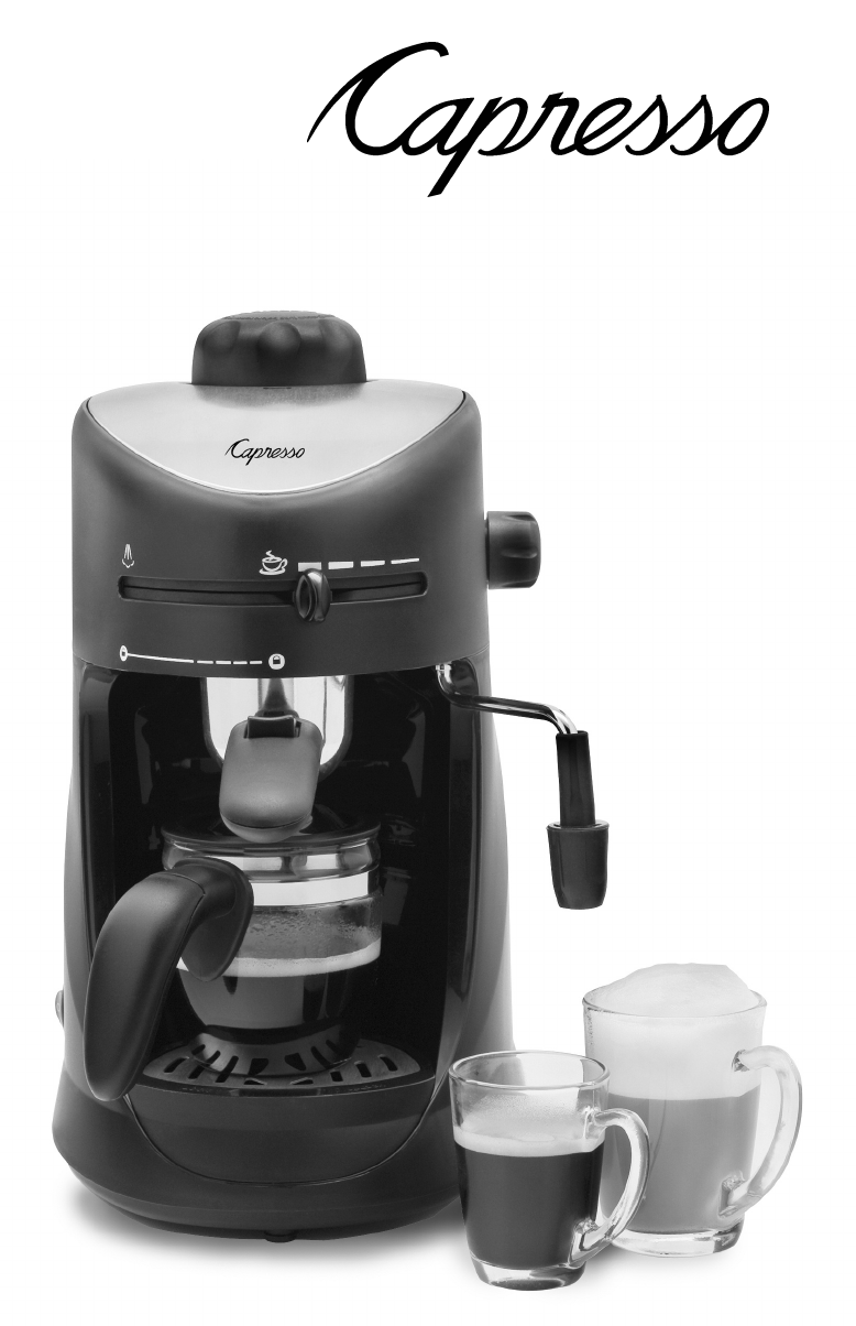 Capresso Coffee Maker Instructions : Capresso Coffeemaker #303 User Guide ManualsOnline.com