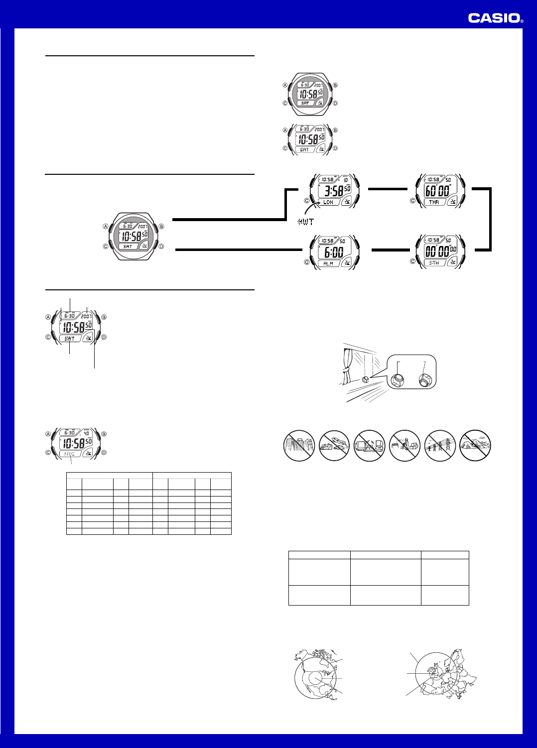 Casio User Manual Watch Wiring Library