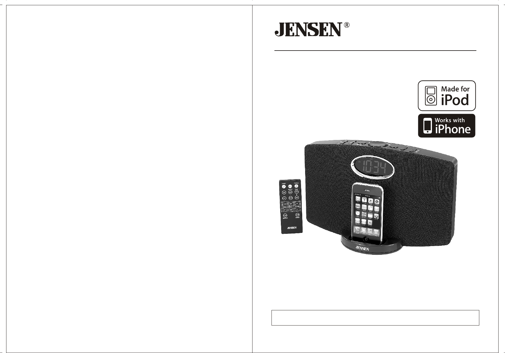 jensen mp3 docking station jims 211i user guide. Black Bedroom Furniture Sets. Home Design Ideas