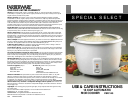 free salton rice cooker user manuals manualsonline com rh kitchen manualsonline com salton rice cooker ra3a directions salton rice cooker model ra3a instructions