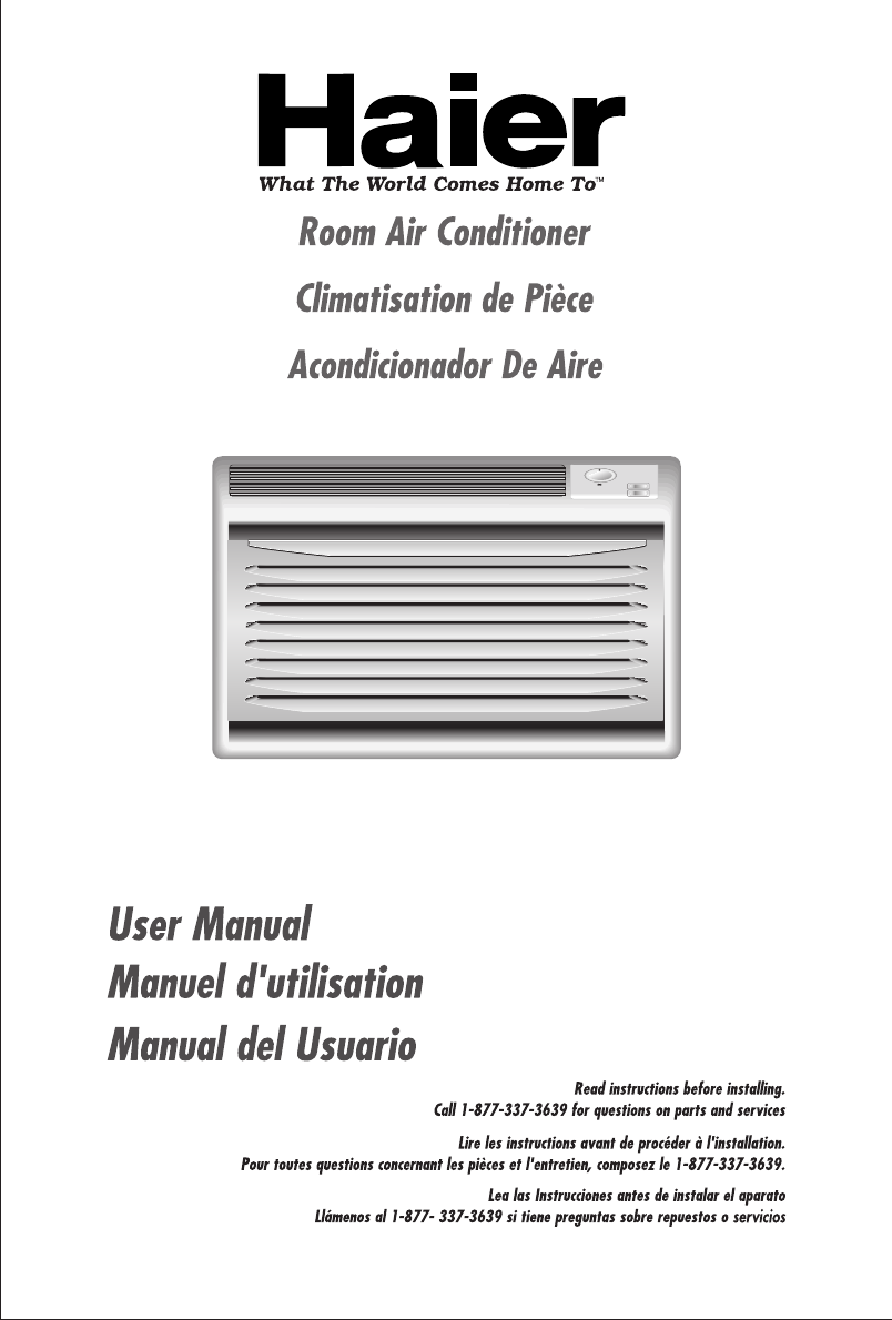 haier air conditioner hwr05xc5 user guide manualsonline com rh kitchen manualsonline com operating instructions for haier air conditioner owners manual for haier portable air conditioner